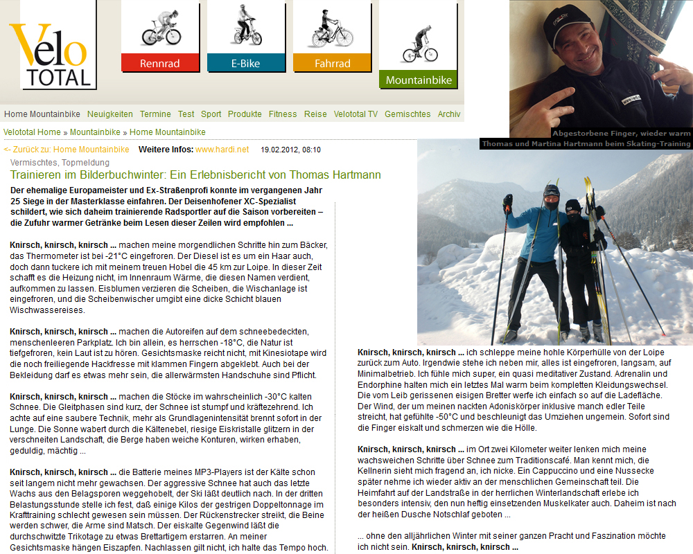 Presseberichte Januar bis März 2012